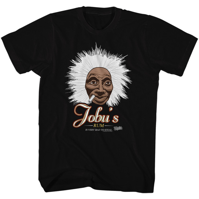 Major League Jobu's Rum Black Adult T-Shirt