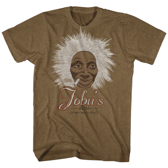 Major League Jobu's Rum Mocha Heather Adult T-Shirt