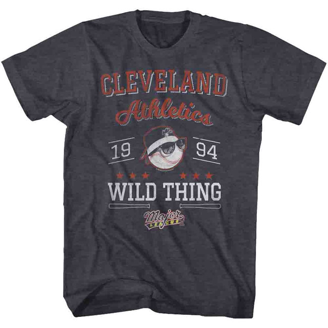 Major League Cleveland '94 Navy Heather Adult T-Shirt