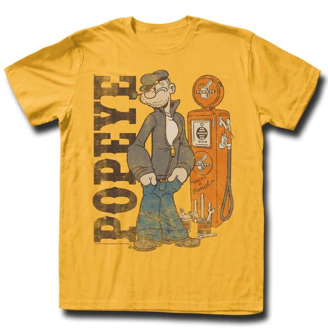 Popeye Ginger Adult T-Shirt