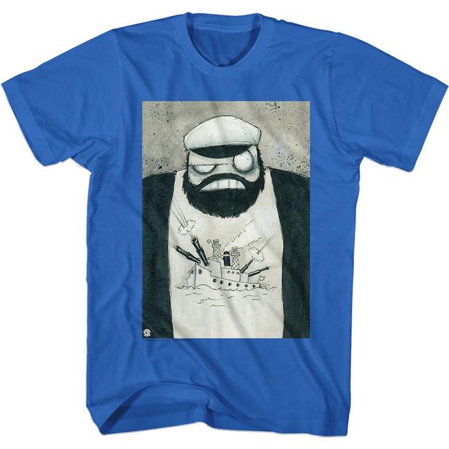 Popeye Crazy Brut Royal Adult T-Shirt