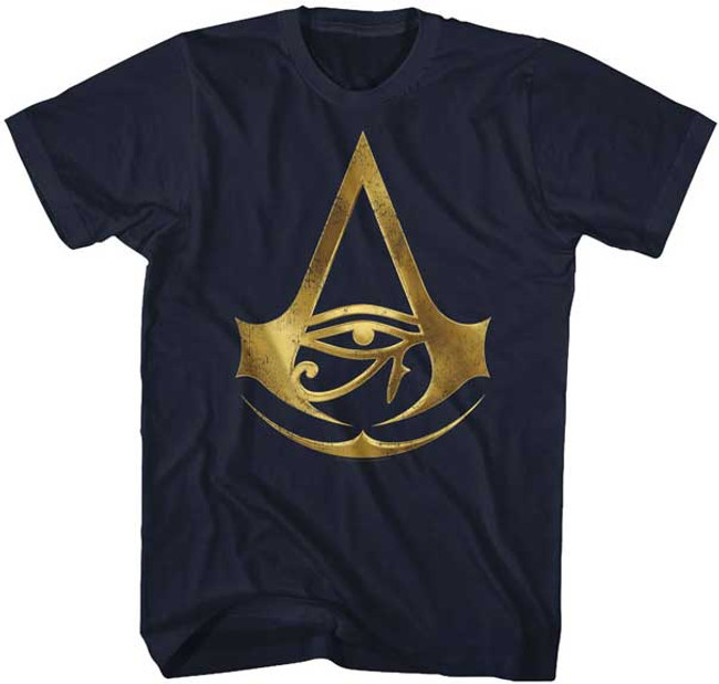 Assassin's Creed Origins Sigil Navy Adult T-Shirt