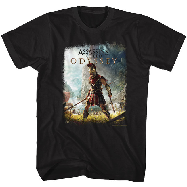 Assassin's Creed Alexios Black Adult T-Shirt