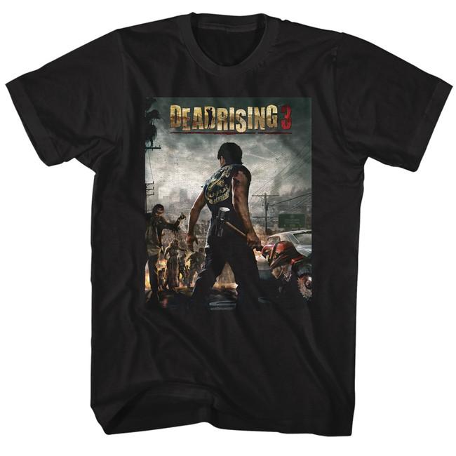Dead Rising Dead Rising 3 Black Adult T-Shirt