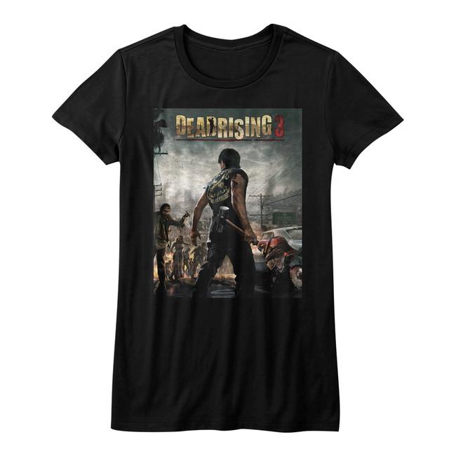 Dead Rising Dead Rising 3 Black Junior Women's T-Shirt