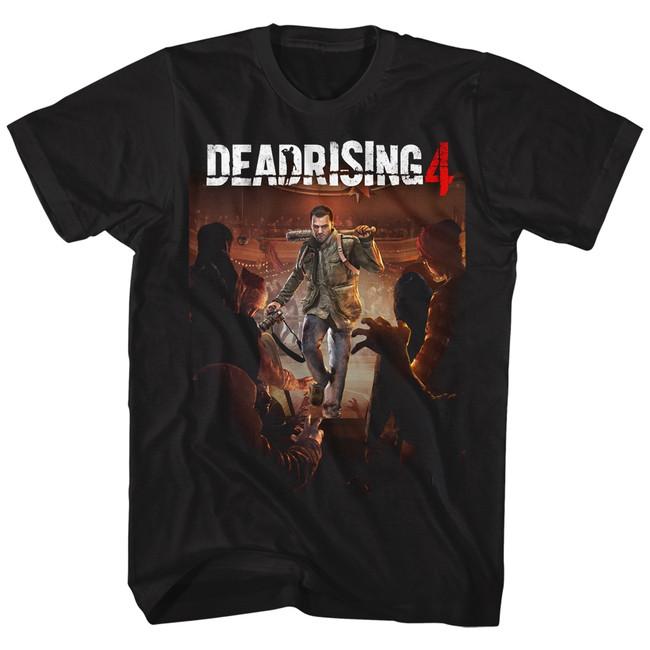 Dead Rising Dead Rising 4 Black Adult T-Shirt