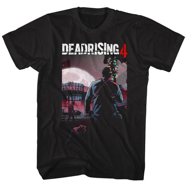 Dead Rising Batmas Dead Rising 4 Black Adult T-Shirt