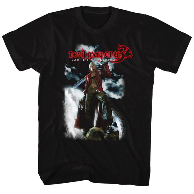 Devil May Cry Dante's Awakening Black Adult T-Shirt