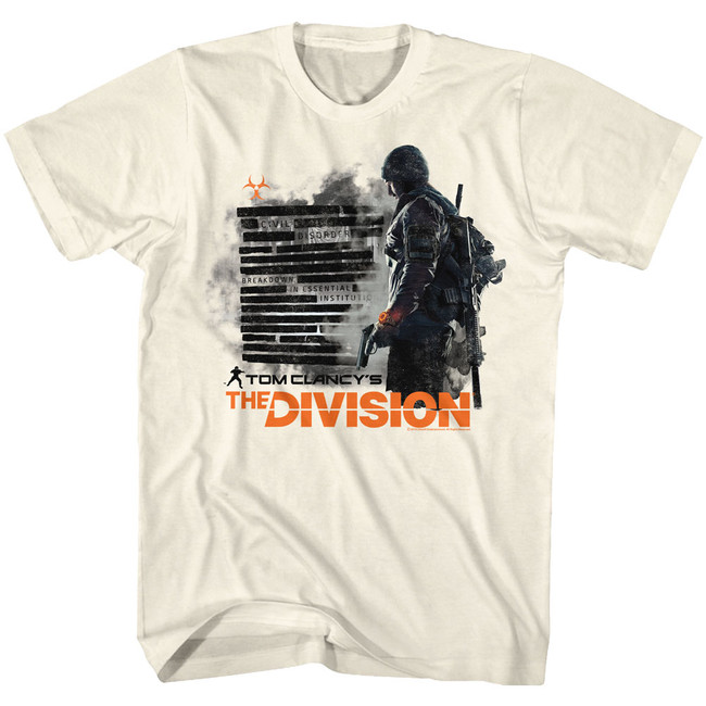 The Division Natural Adult T-Shirt
