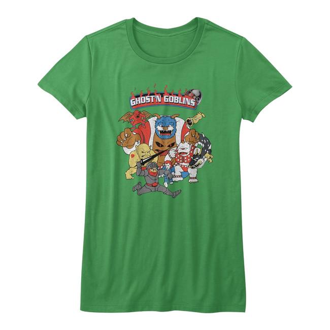 Ghosts 'n Goblins Kelly Junior Women's T-Shirt