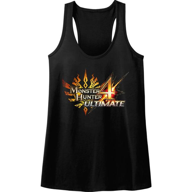 Monster Hunter Monster Hunter 4 Ultimate Junior Women's Racerback Tank Top T-Shirt
