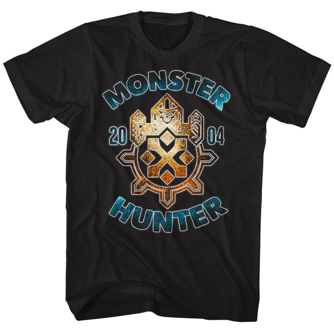 Monster Hunter Black Adult T-Shirt