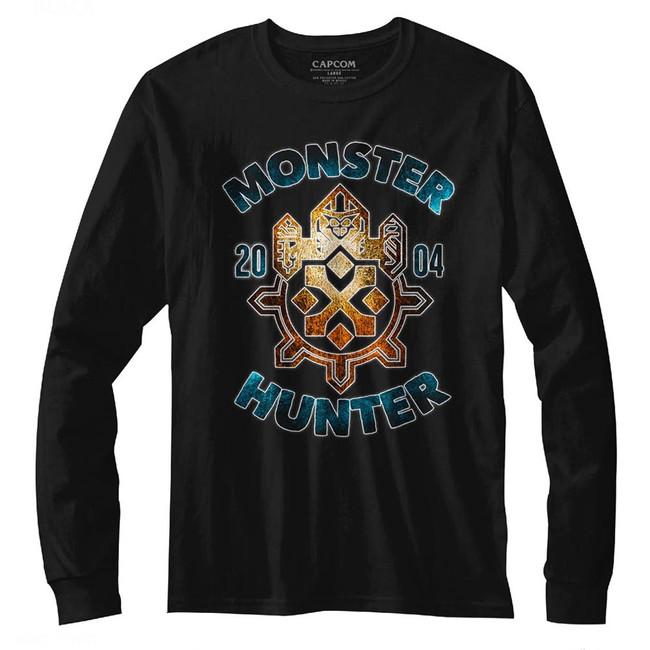 Monster Hunter Black Adult Long Sleeve T-Shirt