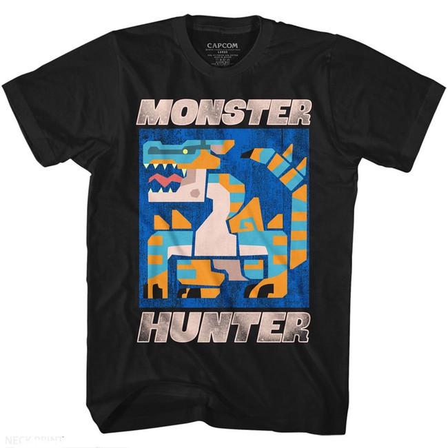 Monster Hunter Scray Black Adult T-Shirt