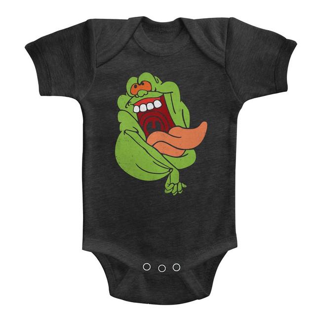 The Real Ghostbusters Slimer Vintage Smoke Infant Baby Onesie