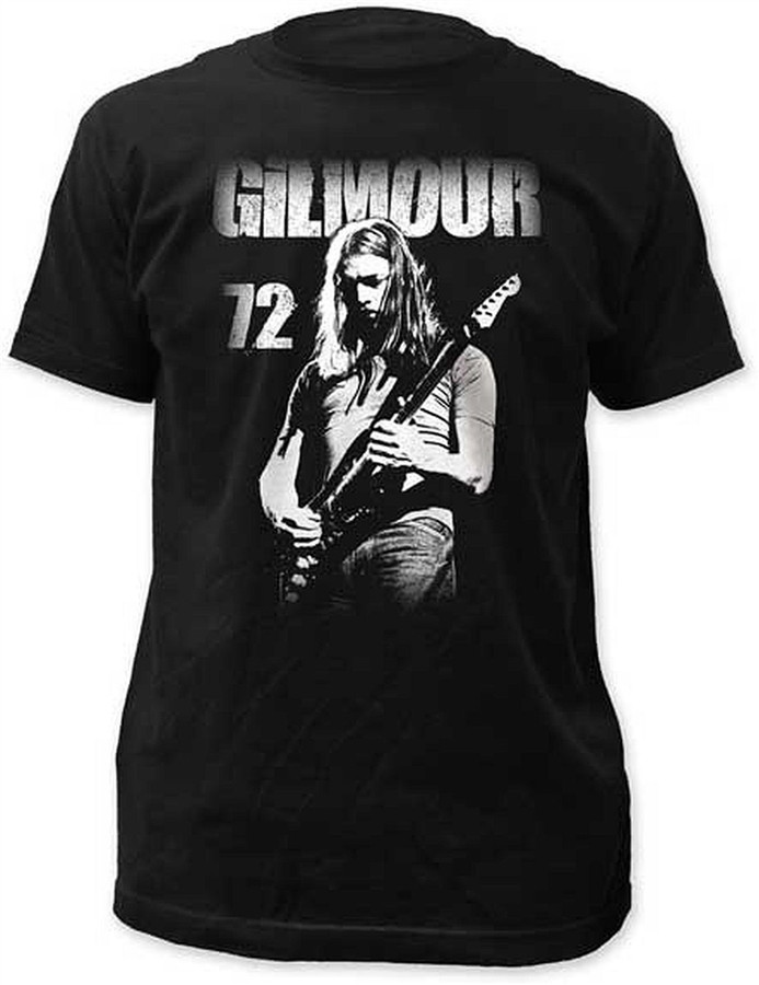 David Gilmour 72 Fitted Jersey T-Shirt