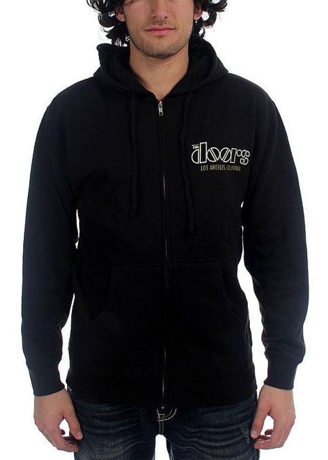 sc 1 st  Official Band Shirts & The Doors - Venice Zip Hoodie Sweatshirt
