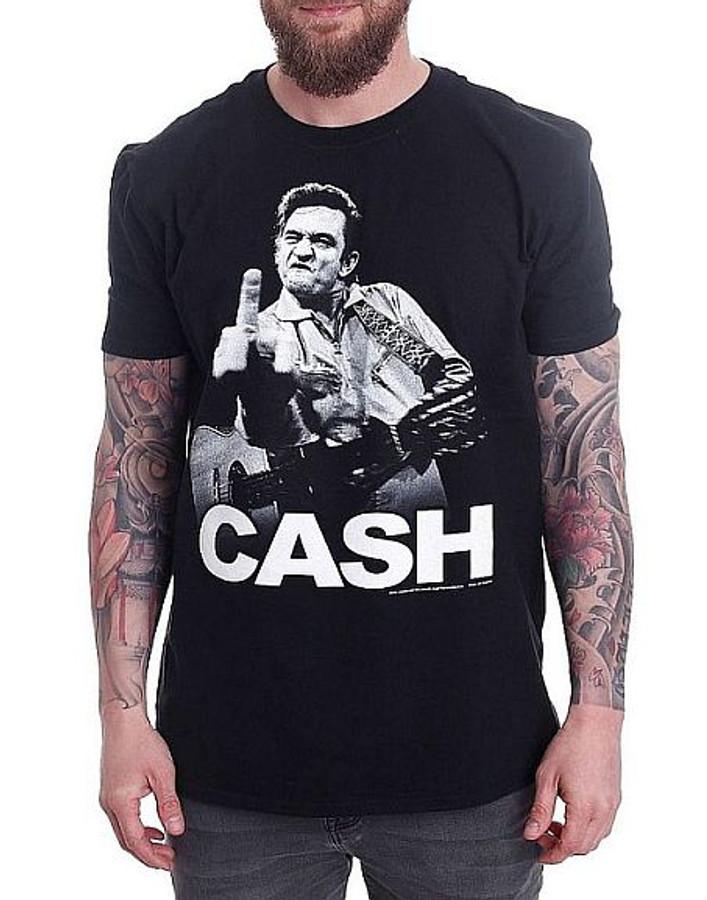 Johnny Cash Flippin T-Shirt