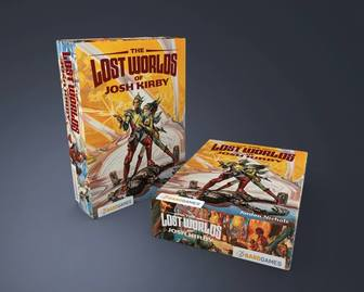 The Lost Worlds of Josh Kirby Board Game