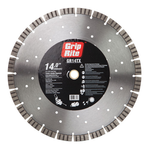 "Grip-Rite GR14TX 14"" Diamond Saw Blade"