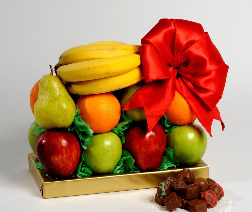 Fruit On Open Chocolate Box #201