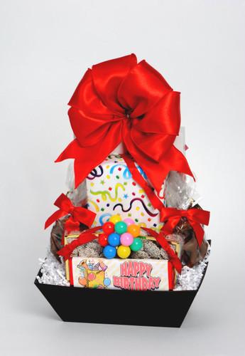 Happy Birthday Basket Small