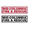 MID-COLUMBIA FIRE & RESCUE Title Decals