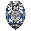Custom Oregon Badge Decal
