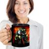 Fireman's Prayer 11 oz. Black Coffee Mug