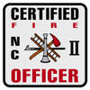 North Carolina Certified Fire Officer Level 2 Decal