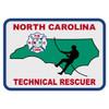 North Carolina Technical Rescuer Decal