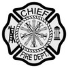 Chief Maltese Cross Decal