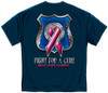Police Fight For A Cure Breast Cancer Awareness T-Shirt (FF2114)