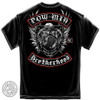 POW - MIA Brotherhood Biker T-Shirt (MM2142)