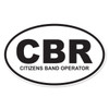CBR (Citizens Band Operator) Oval Decal