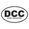 DCC (Digital Command Control Model Railroader) Oval Decal