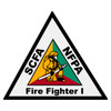 South Carolina Certified Firefighter 1 Decal