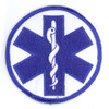 Round Star of Life Patch