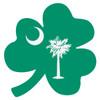 South Carolina 3 Leaf Clover Decal