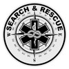 Round Search & Rescue Decal
