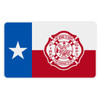 Texas Flag with Maltese Cross Reflective Decal