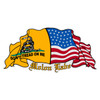 Don't Tread on Me & US Flag Decal