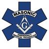 Masonic EMT Star of Life Decal