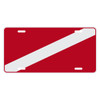 Swiftwater Flag Auto License Plate