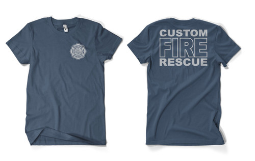 Custom Fire Rescue Duty Shirt