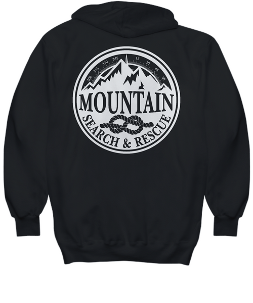 Mountain Search & Rescue Black Hoodie