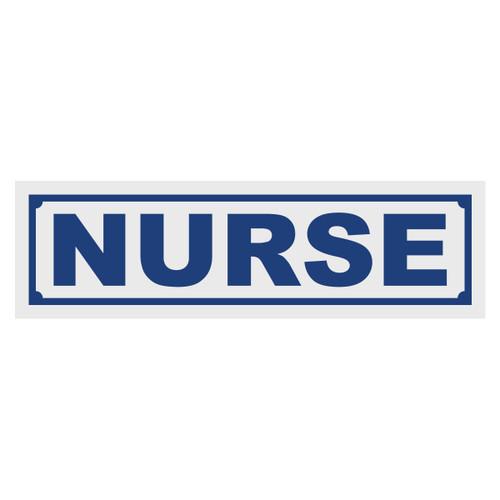 Nurse Title Decal