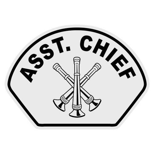 Asst. Chief Helmet Front Decal