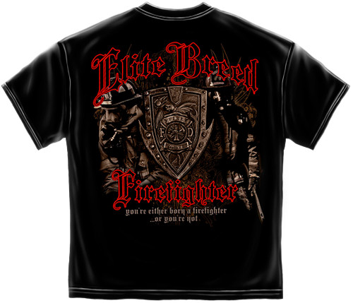 Elite Breed Firefighter T-Shirt (THD015)