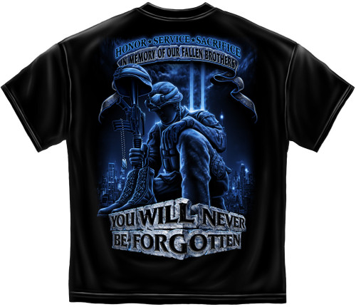 In Memory of Our Fallen Military Brothers T-Shirt (MM110)
